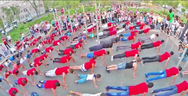 Street Workout Armenia - здоровый образ жизни развивают своими силами