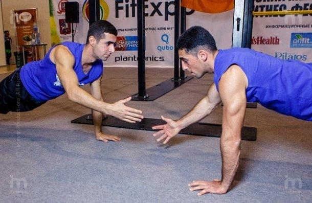 Армения впервые на международном фестивале FitExpo в Москве
