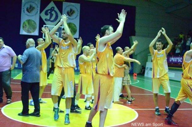 Всеармянские игры. Баскетболисты из Сочи обыграли команду Москвы