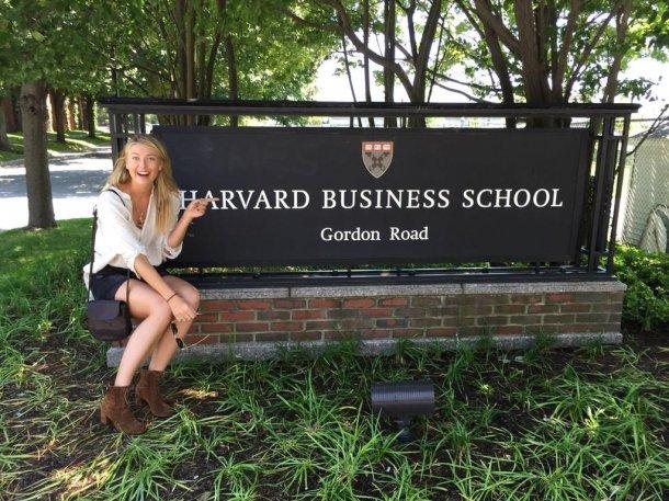 Шарапова поступила в Гарвард