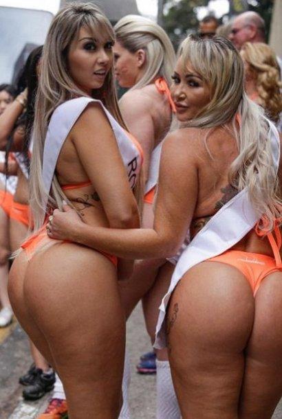 Участницы «Мисс Бум-Бум» в бикини стали причиной дорожной пробки в Сан-Паулу