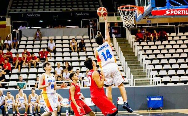 Юношеская сборная Армении по баскетболу победила на чемпионате Европы в дивизионе «С»