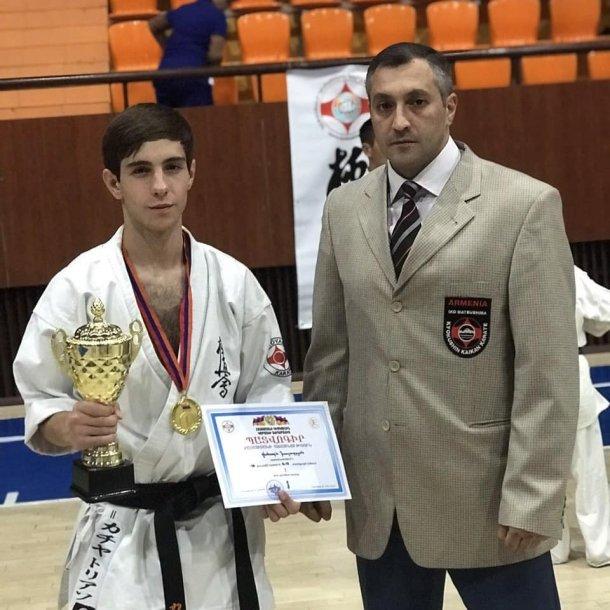 Состоялось первенство Армении по Каратэ Киокушинкай среди детей и подростков